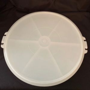 "Vintage Tupperware Party Tray & ""Tupper Seal"" Lid"